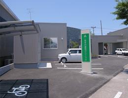 医院概観・駐車場